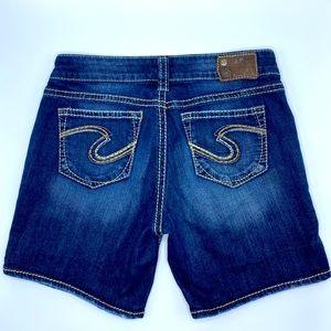 Silver Suki Shorts